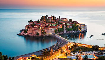 car hire in Sveti Stefan